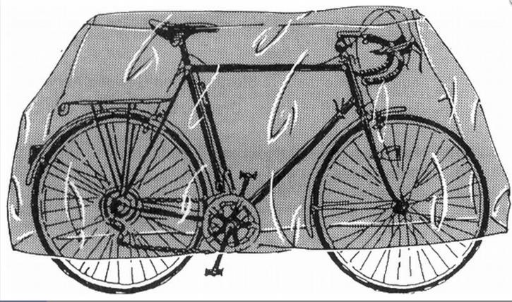 POINTBIKE INVOTATION Zweiradwetterschutz FARBE BLAU