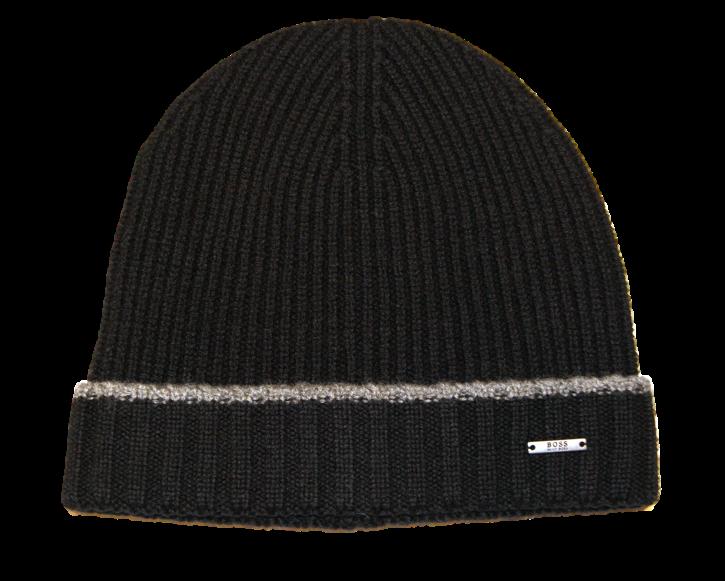 BOSS BLACK Mütze Fati 01 Farbe  schwarz 001