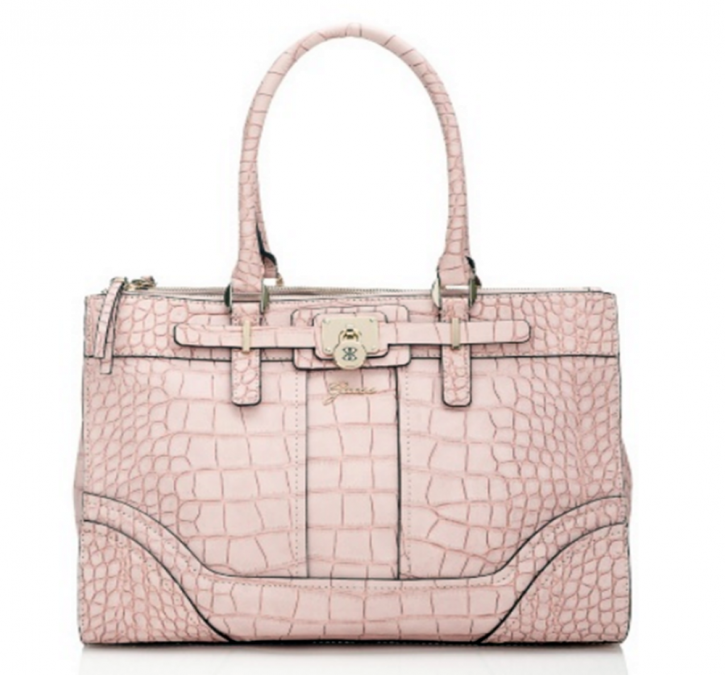 GUESS TASCHE GREYSON LARGE FARBE ROSA CAMEO