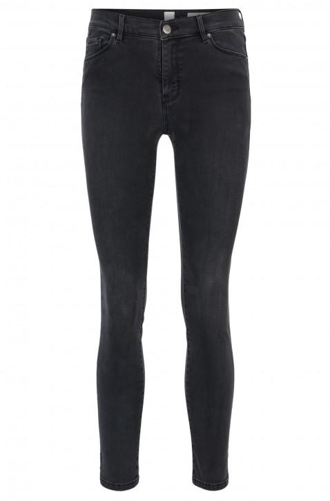 BOSS Skinny-Fit Jeans J10 Ventura PURO aus Stretch-Denim in Cropped-Länge anthrazit 020