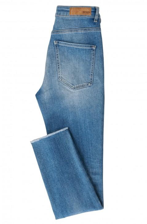 BOSS Skinny-Fit Jeans J11 Murrieta SOL aus Stretch-Denim in Cropped-Länge blau 433