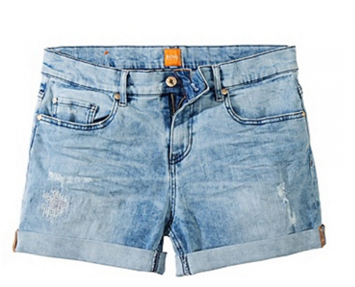 BOSS ORANGE SHORT LIRANDA FARBE TÜRKIS 448