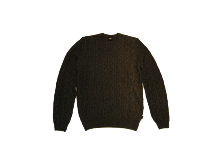 BOSS BLACK PULLOVER MABRY FARBE ANTHRAZIT 010