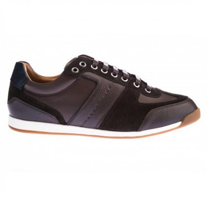 BOSS Sneaker Glaze_ Lowp_ tbsd Material-Mix schwarz 001