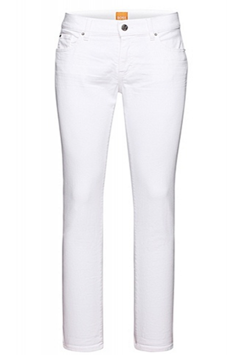 BOSS ORANGE JEANS ORANGE J31 MIAMI FARBE WHITE 100