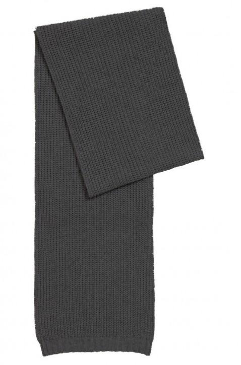 BOSS Grobstrick-Schal NAMAREN aus Material-Mix mit Kaschmir schwarz 001