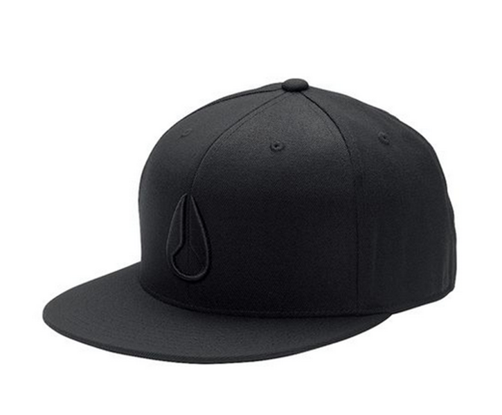 NIXON Deep Down Flex Fit Athletic Fit Cap Farbe schwarz