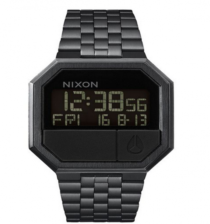 NIXON 80er JAHRE Re-Run 38,5mm Farbe all black