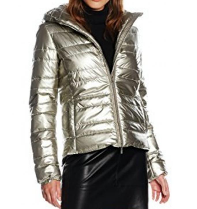BOSS ORANGE Regular-Fit Jacke OTARRA aus Thermore Material-Mix Farbe silbergold 040