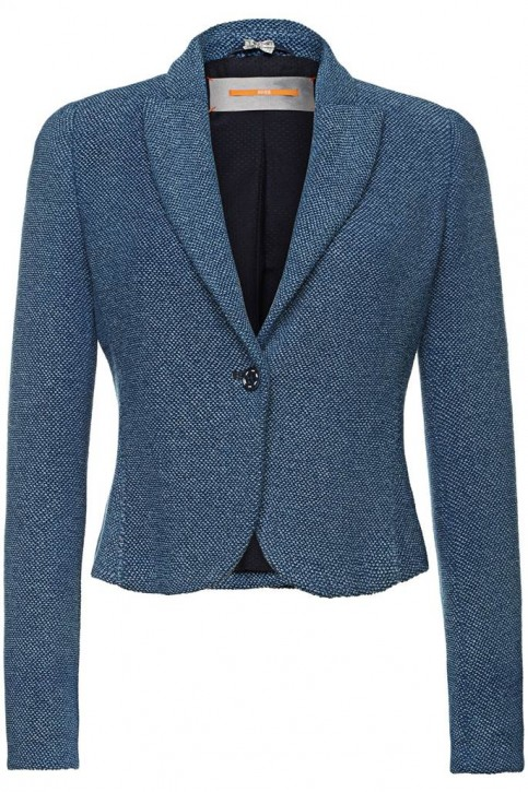 BOSS ORANGE KURZBLAZER OTERRYCRAFTED FARBE BLAU 403