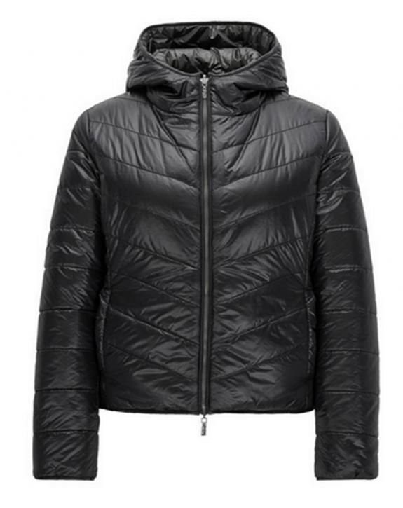 BOSS ORANGE Regular-Fit Wende Jacke OTARRA3 aus wasserabweisendem Material-Mix Farbe schwarz 001