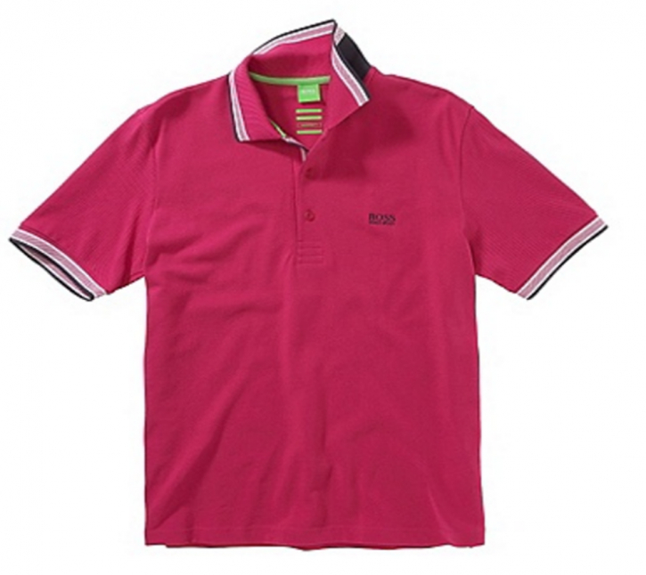 BOSS GREEN POLO PADDY FARBE PINK 661