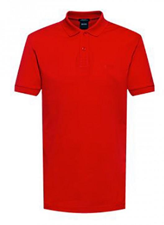 Hugo Boss Poloshirt PIRO aus Pima-Baumwolle Farbe rot 618