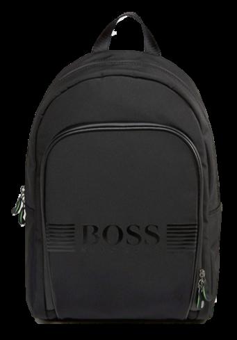 BOSS Rucksack PIXEL_BACKPACK mit Tragehenkel und gummierten Boss Logo
