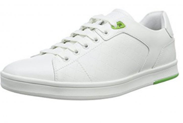 BOSS GREEN SNEAKER RAY CHECK FARBE WEISS 100