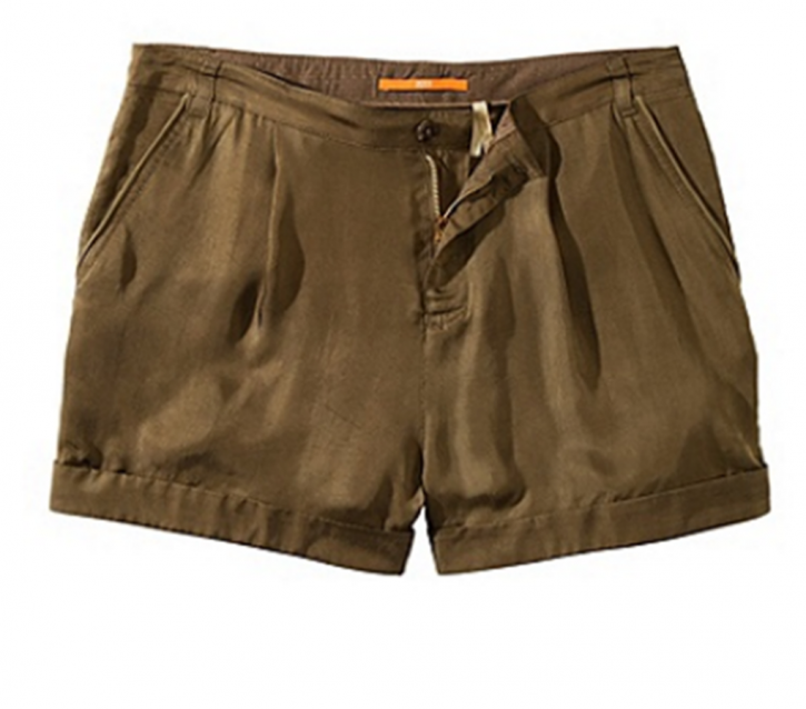 BOSS ORANGE SHORT SETHNA-W FARBE KHAKI 251