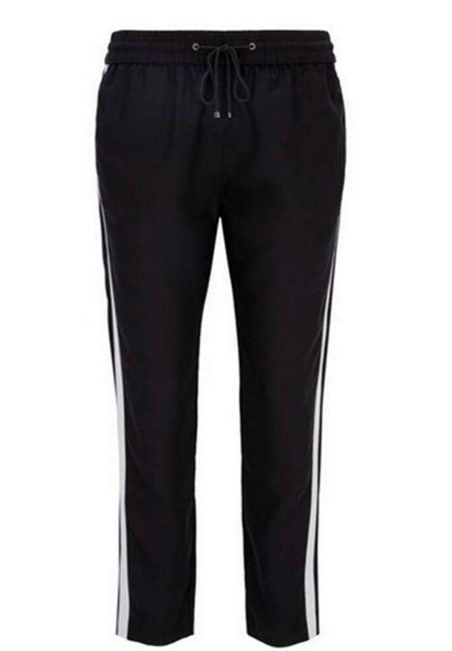 BOSS ORANGE Regular-Fit Casual-Hose SOGGIE aus Material-Mix Farbe schwarz 001