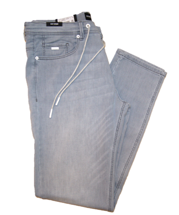 BOSS Jogging -JEANS TABER EASY-BC ROOF mit Tunnelzug grau 050