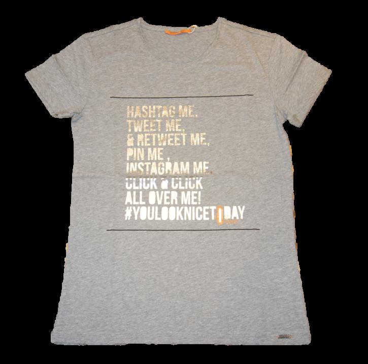 BOSS ORANGE T-Shirt Tafunny Farbe grau 032