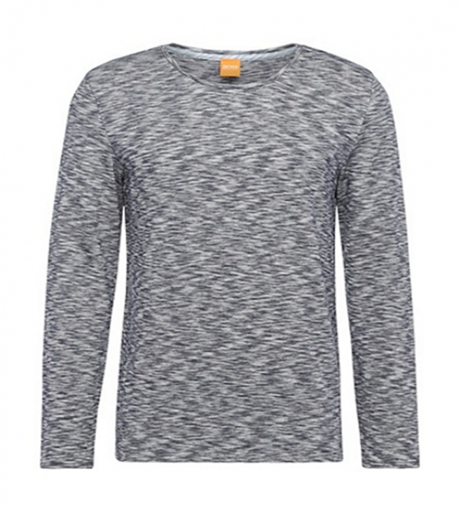 BOSS ORANGE SWEAT PULLOVER TYNER SCHWARZ 001