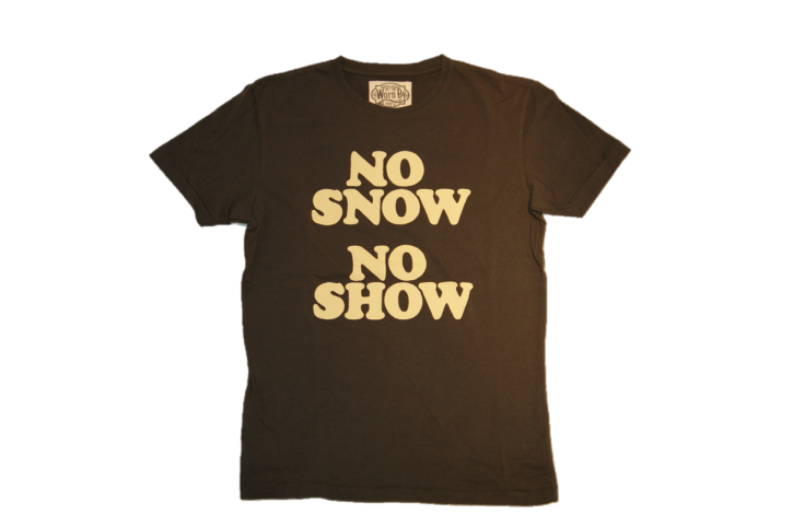 WORN BY T-SHIRT NO SHOW ERIC CLAPTON FARBE brown