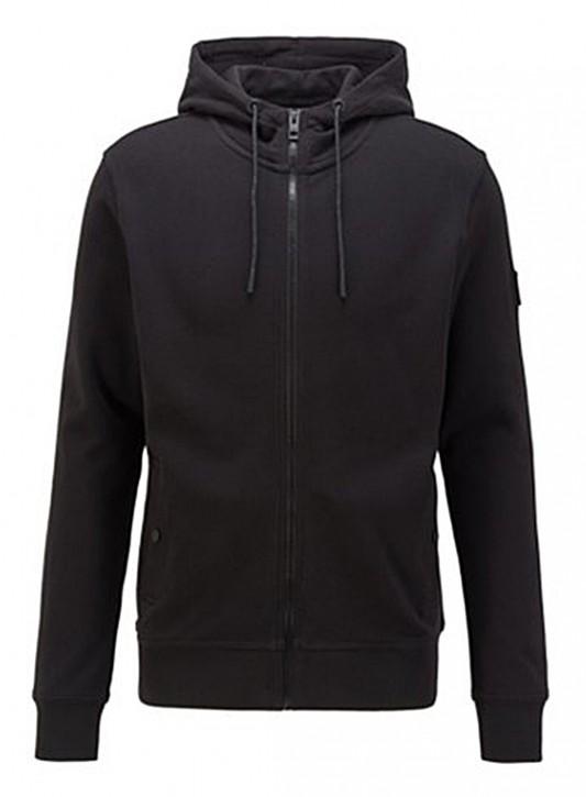 HUGO BOSS Kapuzen-Sweatshirt  Zounds 1 aus Baumwoll-Terry Farbe schwarz 001